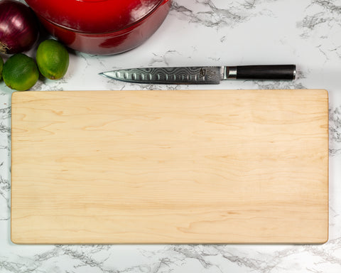 Maple Serving Board - Black Diamond Laser Design