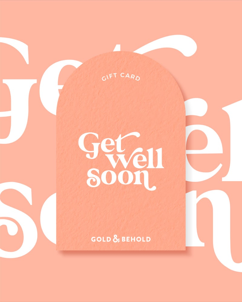 Get well soon - Gift card