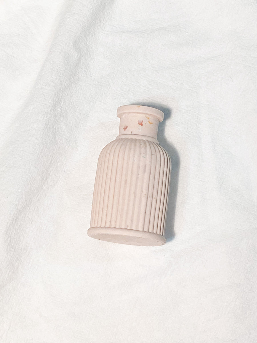 Column Mini Vase in Terra-cotton