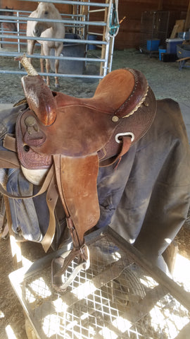Martha Josey Barrel Saddle