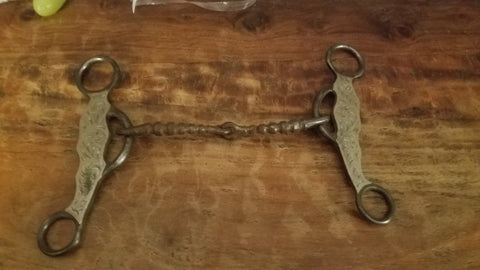D Stanfill Silver Mounted Snaffle