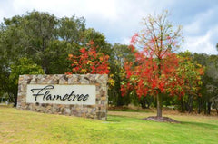 Entrance to Flametree Winery