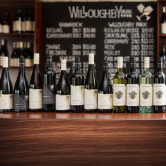 Range of wines from Willoughby Park