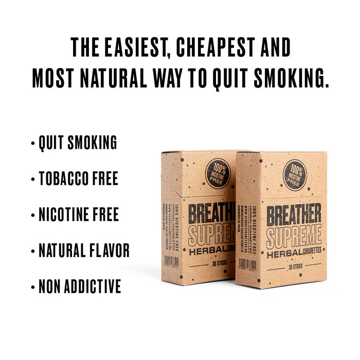 quit smoking in 14 days with herbal cigarettes
