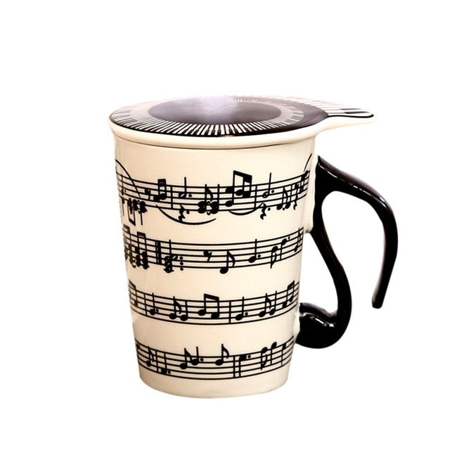 Musical Notes Coffee Cups
