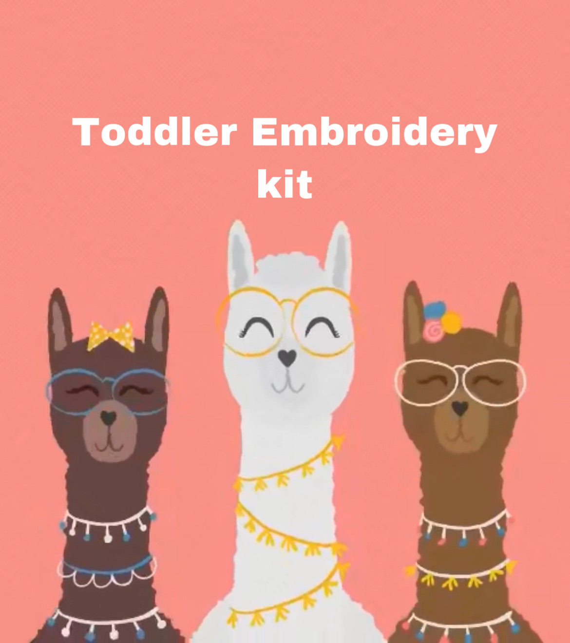 Kids Embroidery Kits- Toddlers