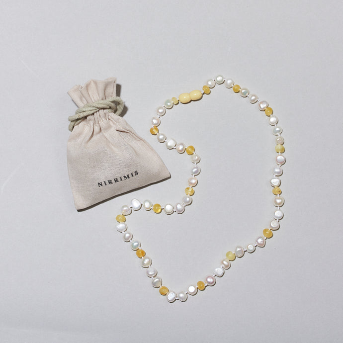 Pearly Milk - Necklace