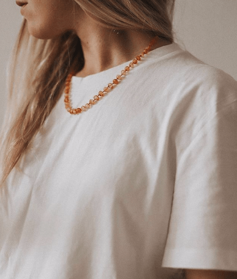 Raw Honey - Necklace