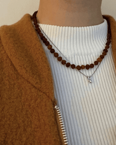Raw Caramel - Necklace