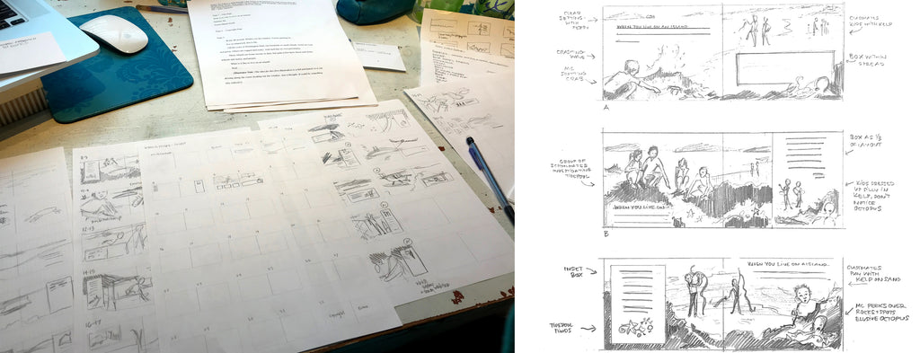 Rough Sketches for To Live on an Island