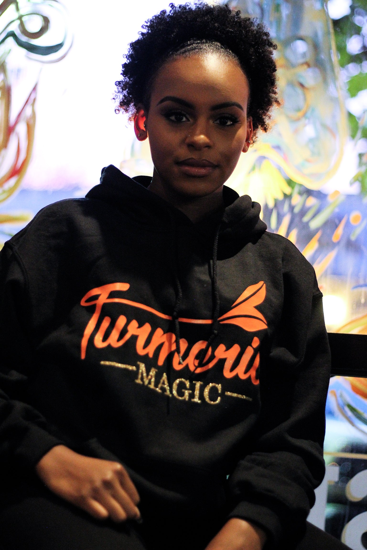 MAGIC Glitter Ladies Ultra Comfy Unisex Hoodie