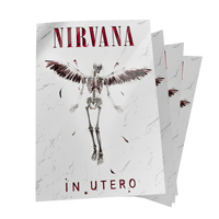 IN UTERO. Postcard