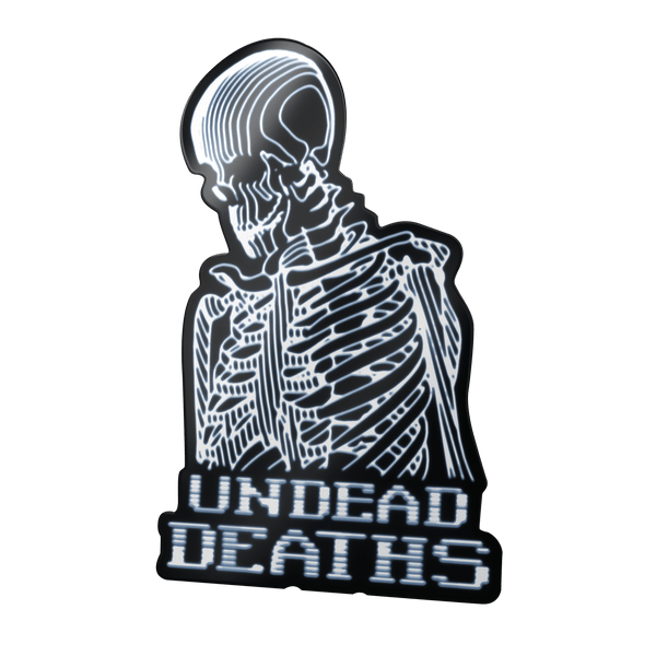 UNDEAD IBM STICKER