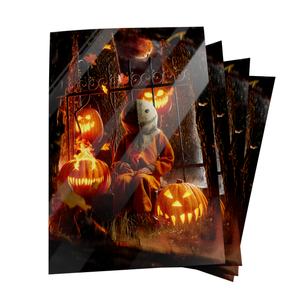 TRICK R' TREAT. Postcard