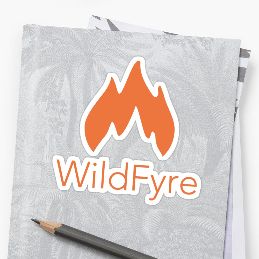 WildFyre Sticker