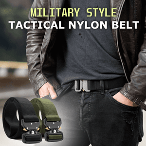 60% OFF -Military Style Tactical Nylon Belt-(BUY 2 FREE SHIPPING)