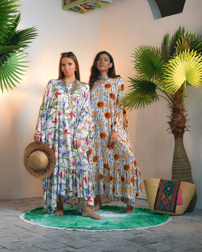 NAJLA FASHION BOTIQUE LINEN JALABIYA / SUMMER COLLECTION - Tarteeb Store