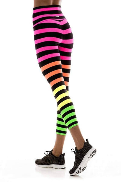 K-Deer Josephine Stripe Crop Legging