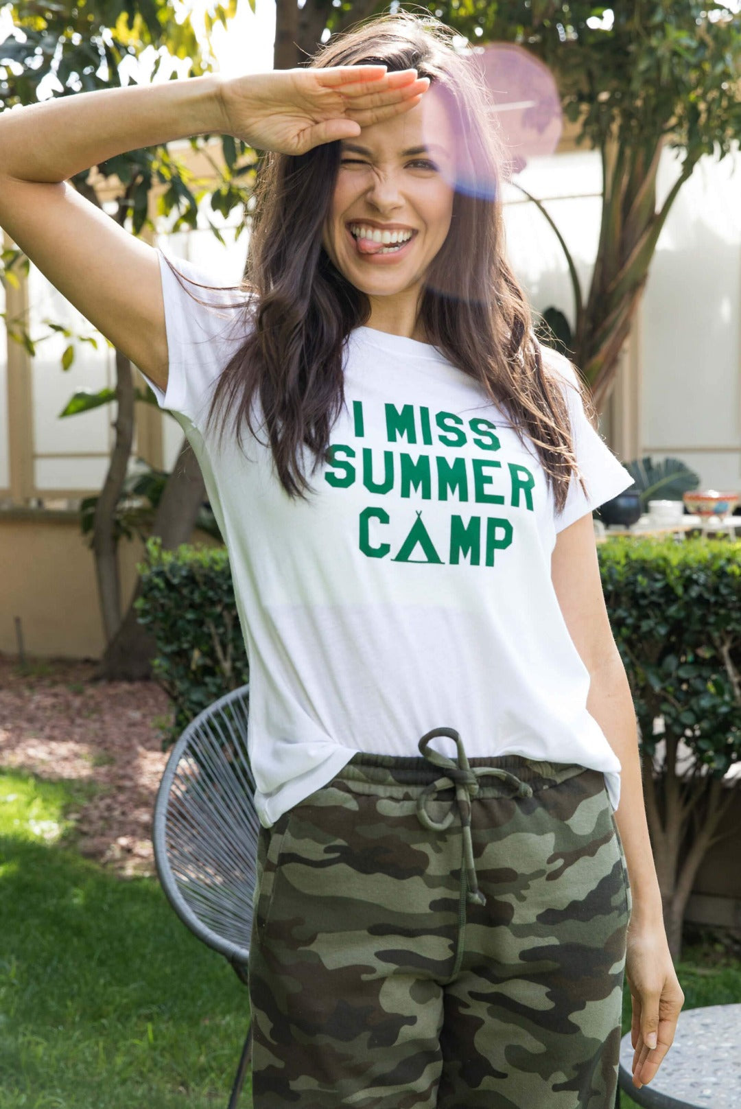 Sub_Urban Riot I Miss Summer Camp Loose Tee