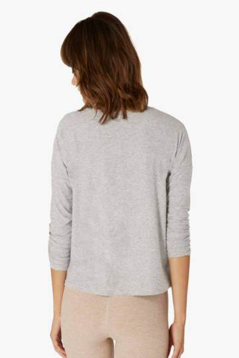 Beyond Yoga | Featherweight Morning Light Pullover