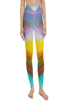 Art By Dani B Disco Diva Mirrored Yoga Legging
