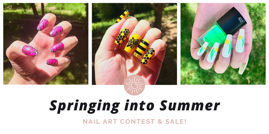 Springing into Summer: Nail Art Contest & Sale!