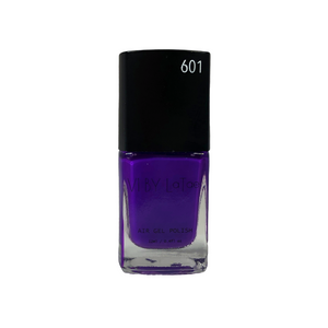 V1 BY LaTae vegan, 18-free, air gel nail polish bottle for the color Purple Honeycreeper, purple, violet