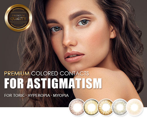 EyeMellow -Best Toric Colored Contact Lenses for Astigmatism