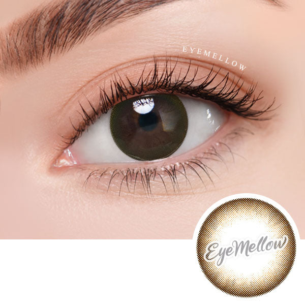 [1Day] Flora Moisture Brown - Daily Colored Contacts (30Lenses)