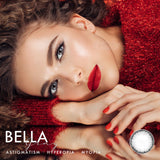 Bella Gray Colored Contact Lenses (Hyperopia)