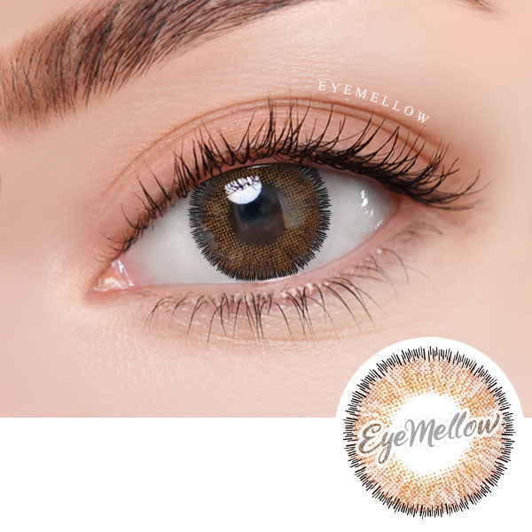 Catty Brown Colored Contact Lenses