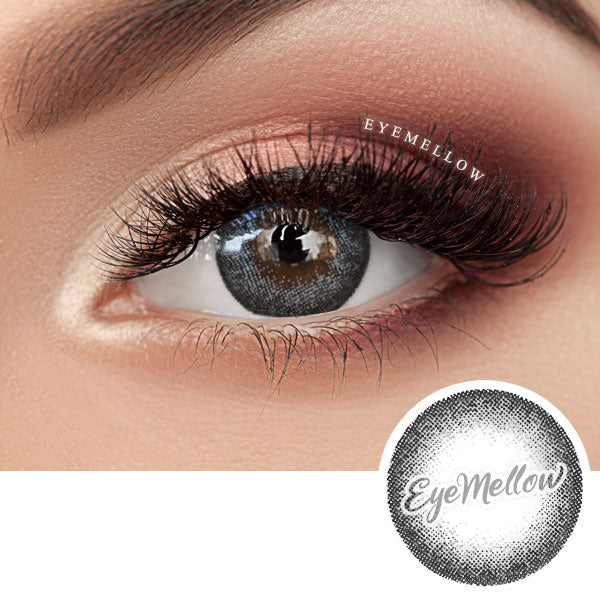 Champagne Gray Colored Contact Lenses (Toric)