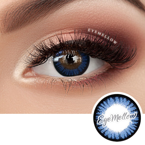 Color Pop Blue Colored Contact Lenses (Hyperopia)