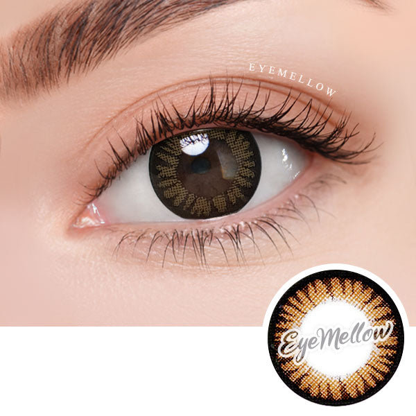 Color Pop Brown Colored Contact Lenses (Toric)