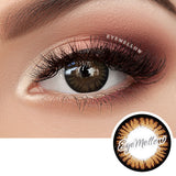 Color Pop Brown Colored Contact Lenses (Hyperopia)