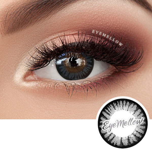 Color Pop Gray Colored Contact Lenses (Hyperopia)