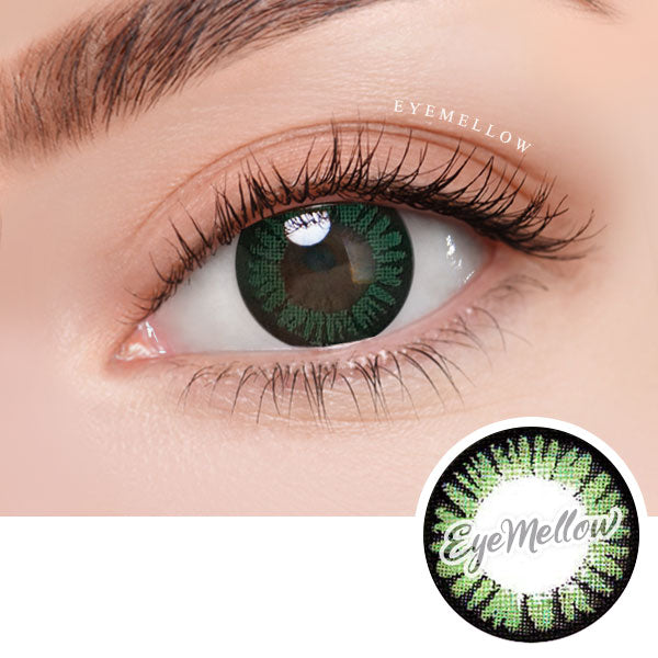 Color Pop Green Colored Contact Lenses (Toric)