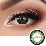 Color Pop Green Colored Contact Lenses