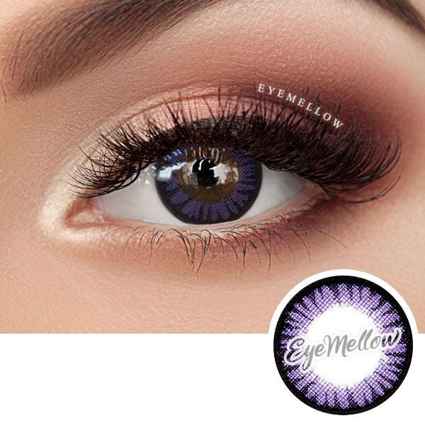 Color Pop Violet Colored Contact Lenses (Hyperopia)