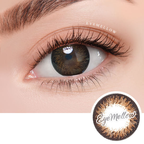 Dalia Brown Colored Contact Lenses (Hyperopia)