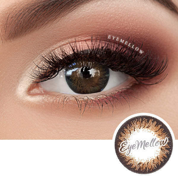 Dalia Brown Colored Contact Lenses