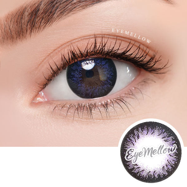 Dalia Violet Colored Contact Lenses (Toric)