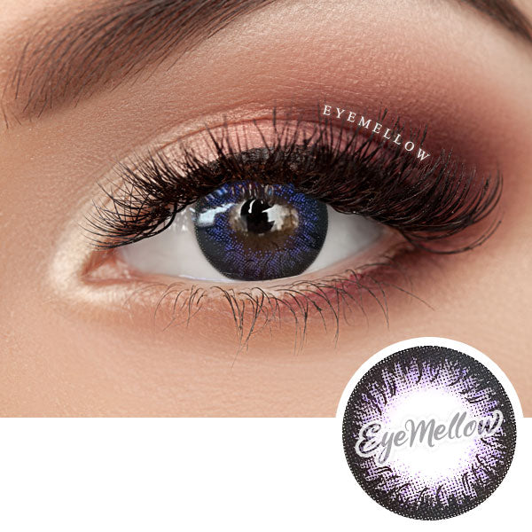 Dalia Violet Colored Contact Lenses (Hyperopia)