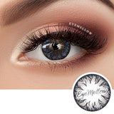 Eclair Gray Colored Contact Lenses (Toric)
