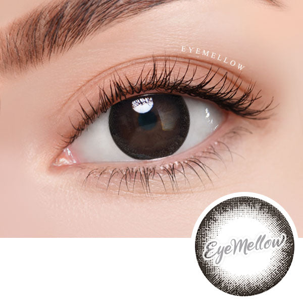 Ever Black Colored Contact Lenses (Hyperopia)