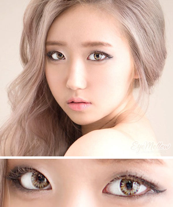 [Monthly] FLOW Marine Brown Colored Contact Lenses (Toric) (2pairs)