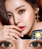 [1+1][Monthly] Gemstone Green Colored Contact Lenses - Silicone hydrogel