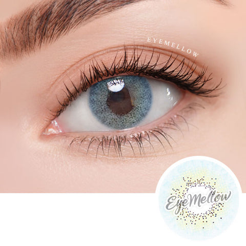 Glam Aqua Blue Colored Contact Lenses (Toric)
