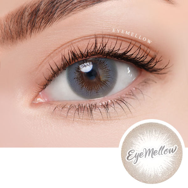[1+1] Lady Girl Gray Colored Contact Lenses
