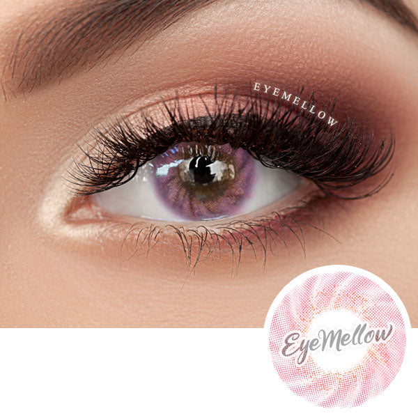 Lollipop Pink Colored Contact Lenses